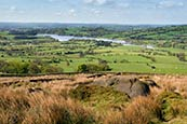 Thumbnail image of view towards Tittesworth Reservoir from The Roaches, Staffordshire