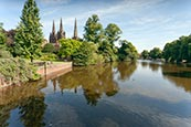 Thumbnail image of Minster Pool, Lichfield  Staffordshire