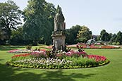 Thumbnail image of Beacon Park and Edward VII statue, Lichfield  Staffordshire