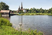 Thumbnail image of Stow Pool with Cathedral, Lichfield,  Staffordshire