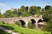 Thumbnail image of Ludlow Castle and River Teme, Shropshire
