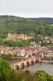 Thumbnail image of view over the city from the Philosophenweg, Heidelberg, Baden-Württemberg, Germany