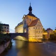 Thumbnail image of Old Town Hall and the Obere Bridge, Bamberg, Bavaria, Germany
