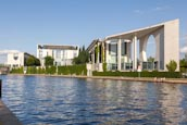 Thumbnail image of Bundeskanzleramt and River Spree, Berlin, Germany