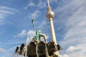 Thumbnail image of Fernsehturm and Neptunbrunnen, Berlin, Germany
