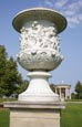Thumbnail image of Vase made of cast zinc in the Palace Garden, by Friedrich Drake, Neustrelitz, Mecklenburg-Vorpommern