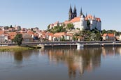 Thumbnail image of view of the Altstadt with River Elbe, Meissen, Saxony, Germany