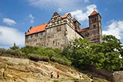 Thumbnail image of Schloss and Dom (St Servatius Church), Quedlinburg, Saxony-Anhalt, Germany