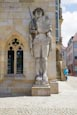Thumbnail image of Roland statue outside Town Hall, Halberstadt, Saxony Anhalt, Germany