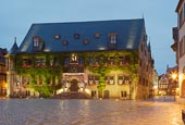 Thumbnail image of Marktet Square with the Town Hall, Quedlinburg, Saxony Anhalt, Germany