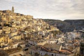 Thumbnail image of view over the city from viewpoint at Piazzetta Pascoli, Matera, Basilicata, Italy