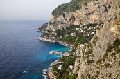 Thumbnail image of view from Belvedere Cannone over the coast and Marina Piccola, Capri, Campania, Italy