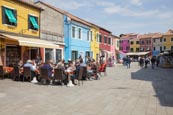 Thumbnail image of Rio Terra del Pizzo with ourdoor restaurants and coloured houses