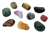 Thumbnail image of Selection of gemstones
