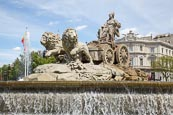 Thumbnail image of Cibeles Fountain in Cibeles Square, Madrid, Spain