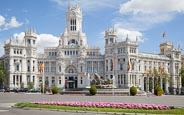 Thumbnail image of Cybele Palace / Palacio de Cibeles on Plaza de Cibeles, Madrid, Spain