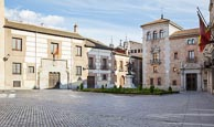 Thumbnail image of Plaza de la Villa with Torre de los Lujanes (Lujanes Tower), one of the oldest buildings in Madrid a