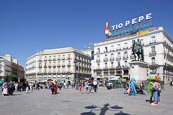 Thumbnail image of Sol Square, Puerta del Sol, Madrid, Spain